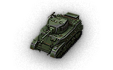 M5A1 Stuart - China (Tier 4 Light tank)