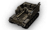M44 - Usa (Tier 6 Self-propelled gun)